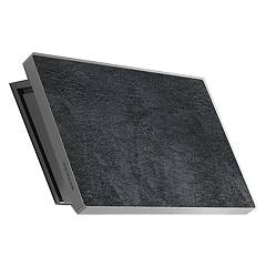 Lav.in L038p09e44 - Slate Wall-mounted hood cm. 80 - stone savoy anthracite