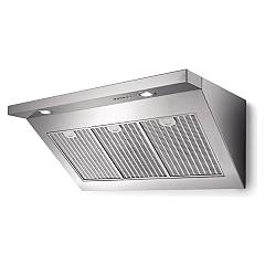 Lav.in L011p12f02 - Elisir Wall hood cm. 120 - stainless steel wall design - 800 m³ / h engine