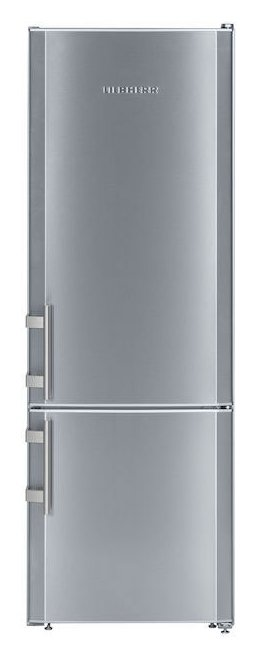 Photos 1: Liebherr CUEF 2811 Freezer cm. 55 h 161 - 263 liters - combined free-standing silver