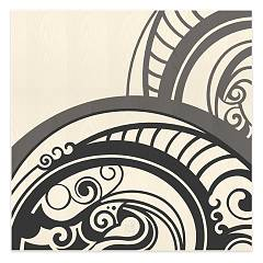 Lignis Abstract Gear Cold Rahmen cm. 75 x 75 Dolcevita