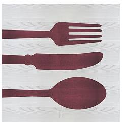 Lignis Objects Cutlery Colors Cadre cm. 75 x 75 Dolcevita