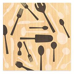 Lignis Objects Kitchentools Warm Framework cm. 75 x 75 Dolcevita