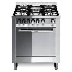 Lofra M76gv/c Kitchen from accosto cm. 70 x 60 - inox 5 fires + 1 gas oven Maxima