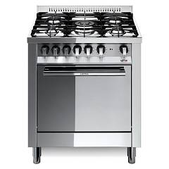 Lofra M76mf/c Kitchen from accosto cm. 70 x 60 - inox 5 fires + 1 electric oven Maxima
