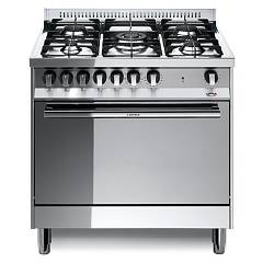 Lofra Mg86gv/c Kitchen from accosto cm. 80 x 60 - inox 5 fires + 1 gas oven Maxima