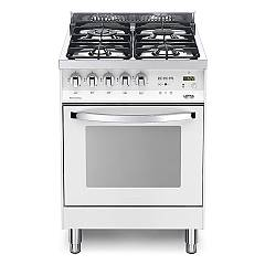 Lofra Pbp 66mft/c Kitchen from accosto cm. 60 x 60 - white pearl 4 fires + 1 electric oven Rainbow