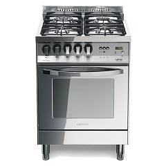 Lofra Pl 66gvt/c Kitchen from accosto cm. 60 x 60 - total inox 4 fires + 1 gas oven Rainbow