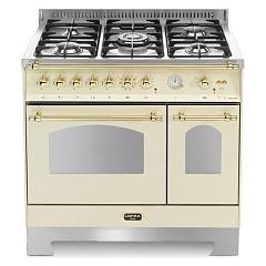 Lofra Rbid96mfte/ci Kitchen from accosto cm. 90 x 60 - ivory 5 fires + 2 electric ovens Dolcevita