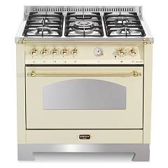 Lofra Rbig96mft/ci Kitchen from accosto cm. 90 x 60 - ivory 5 fires + 1 electric oven Dolcevita