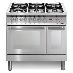 Lofra Pd96mfte/cisf Kitchen from accosto cm. 90 x 60 - inox 6 fires + 2 electric ovens Special