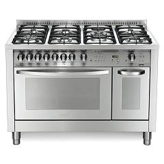 Lofra Pd126gv+e/2ci Kitchen from accosto cm. 120 x 60 - inox 7 fires + 2 electric and gas ovens Special