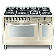 Lofra Pbid126gv+e/2ci Kitchen from accosto cm. 120 x 60 - ivory 7 fires + 2 electric and gas ovens Special