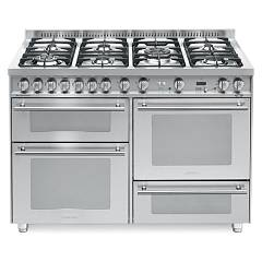 Lofra P126smfe+mf/2ci Kitchen from accosto cm. 120 x 60 - inox 7 fires + 3 electric ovens Special