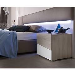Mab Square - Gsq 1100 Wooden bedside