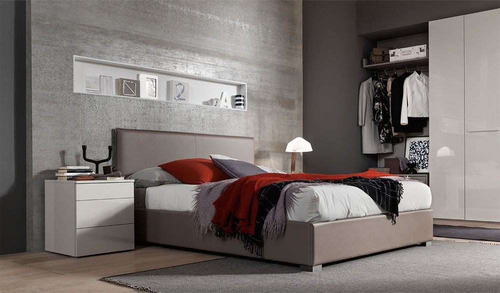 Photos 1: Mab CITY Padded double bed