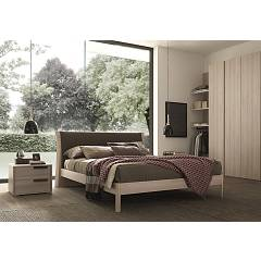 Mab Joy Box Double bed wooden with box