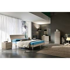 Mab Mixer Bed a square and half in wood