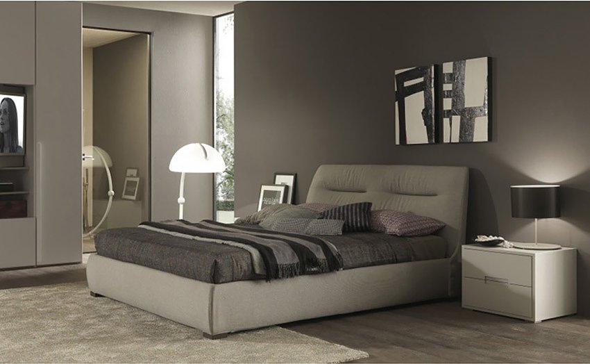 Photos 1: Mab MOON Padded double bed