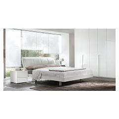 Mab Musa Bed a square and half in wood