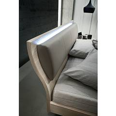 Photos 3: Mab MUSA Double bed in wood