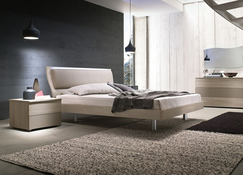 Photos 1: Mab MUSA Double bed in wood
