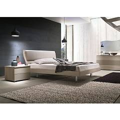 Mab Musa Box Double bed in wood with container