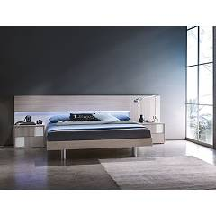 Photos 3: Mab PLAIN BOX Double bed in wood with container