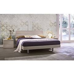 Mab Tulip Double bed in wood
