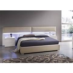 Mab Wall Padded double bed