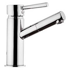 Mariani 382/hr Sink mixer - chrome with discharge Hermes