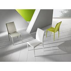 Max Home Dafne Chair covered in eco-leather