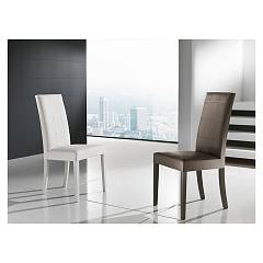 Max Home Odessa Chair in wood and eco-leather