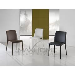 Max Home Jodie Chair covered in eco-leather