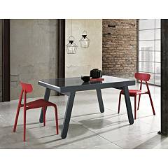 Max Home Jacopo Extendable table 140 x 90 cm matt lacquered