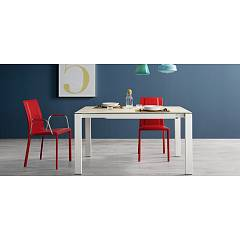 Midj Badu Extendible table l. 100 x 70