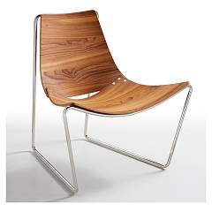Midj Apelle At Lg Armchair in metal and wood