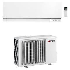 Mitsubishi Electric Muz-ef25+msz-ef25 Fixed air conditioner - 60 db - 9000 btu / h - white