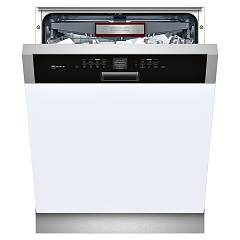 Neff S416t80s1e Dishwasher cm. 60 - 14 covers - inox and black integrated part