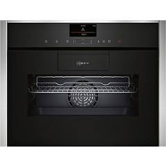 Neff C87fs32n0 Combined steam oven cm. 60 h 45 - inox glass easy clean