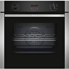 Neff B2acg7an0j Built-in oven cm. 60 - inox and glass