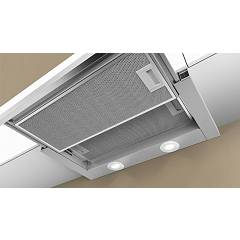 Telescopic extractor hood cm. 60 metallised gray - NEFF - D46BR22X0