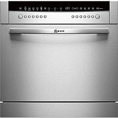 Neff S66m64m1eu Dishwasher cm. 60 compact - covers 8 stainless steel front