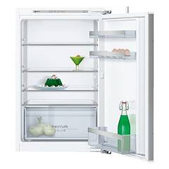 Neff Ki1212f30 880 h. built-in single door recessed refrigerator - lt. 144 with flat zippers