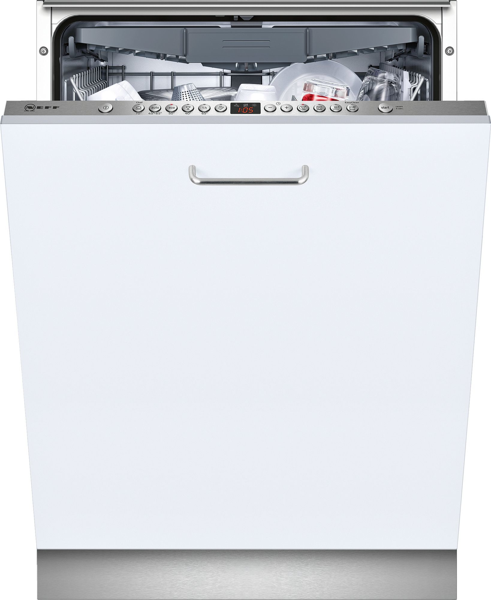 Photos 1: Neff Dishwasher cm. 60 - 14 total disappeared covers S523M60X3E