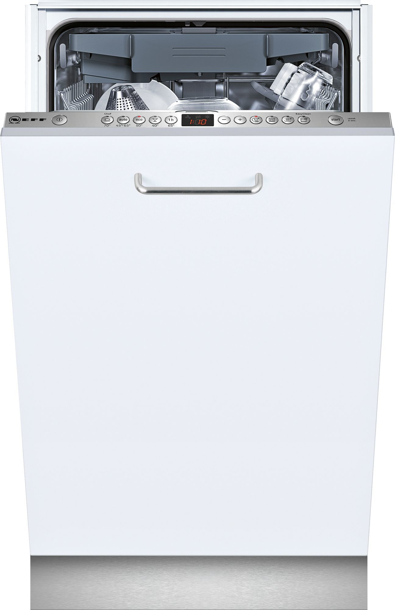 Photos 1: Neff Dishwasher cm. 45 - 10 covered total disappearance S583M50X0E