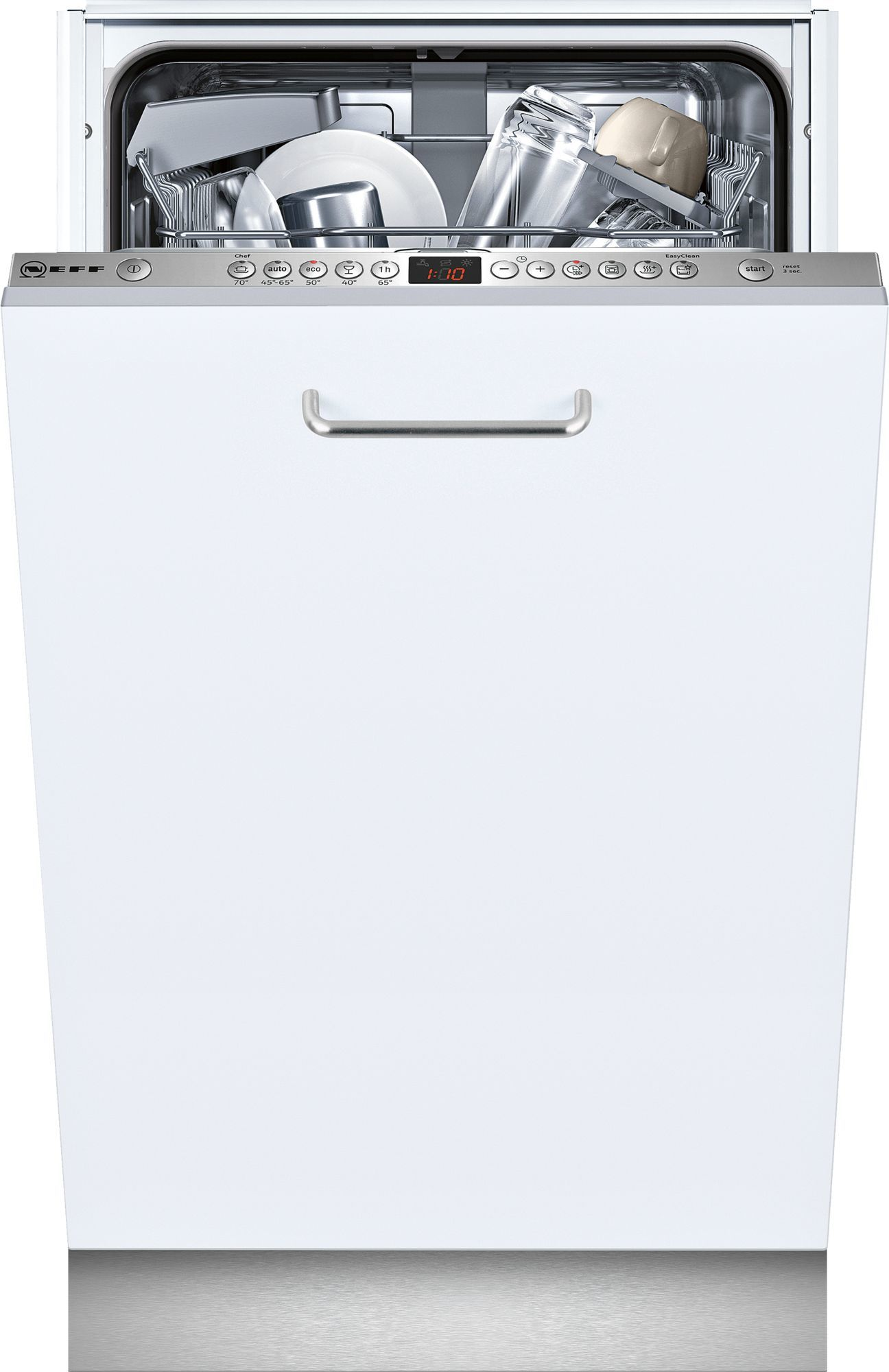 Photos 1: Neff Dishwasher cm. 45 - 9 covered total disappearance S583C50X2E