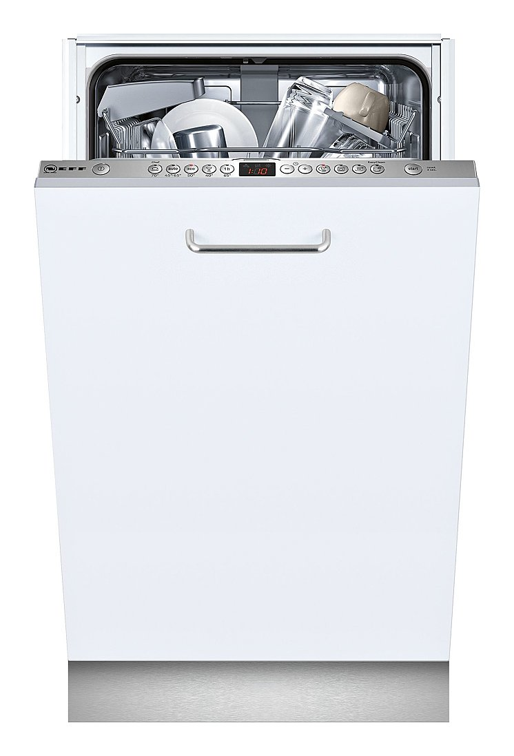 Photos 1: Neff S583C50X2E Dishwasher cm. 45 - 9 covered total disappearance