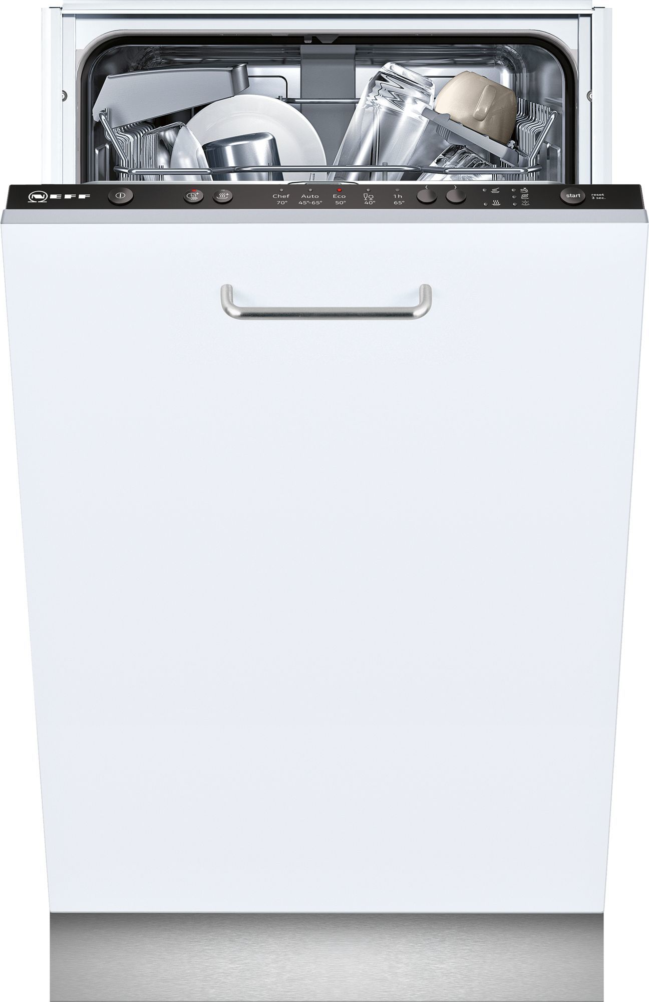 Photos 1: Neff Dishwasher cm. 45 - 9 covered total disappearance S581C50X3E