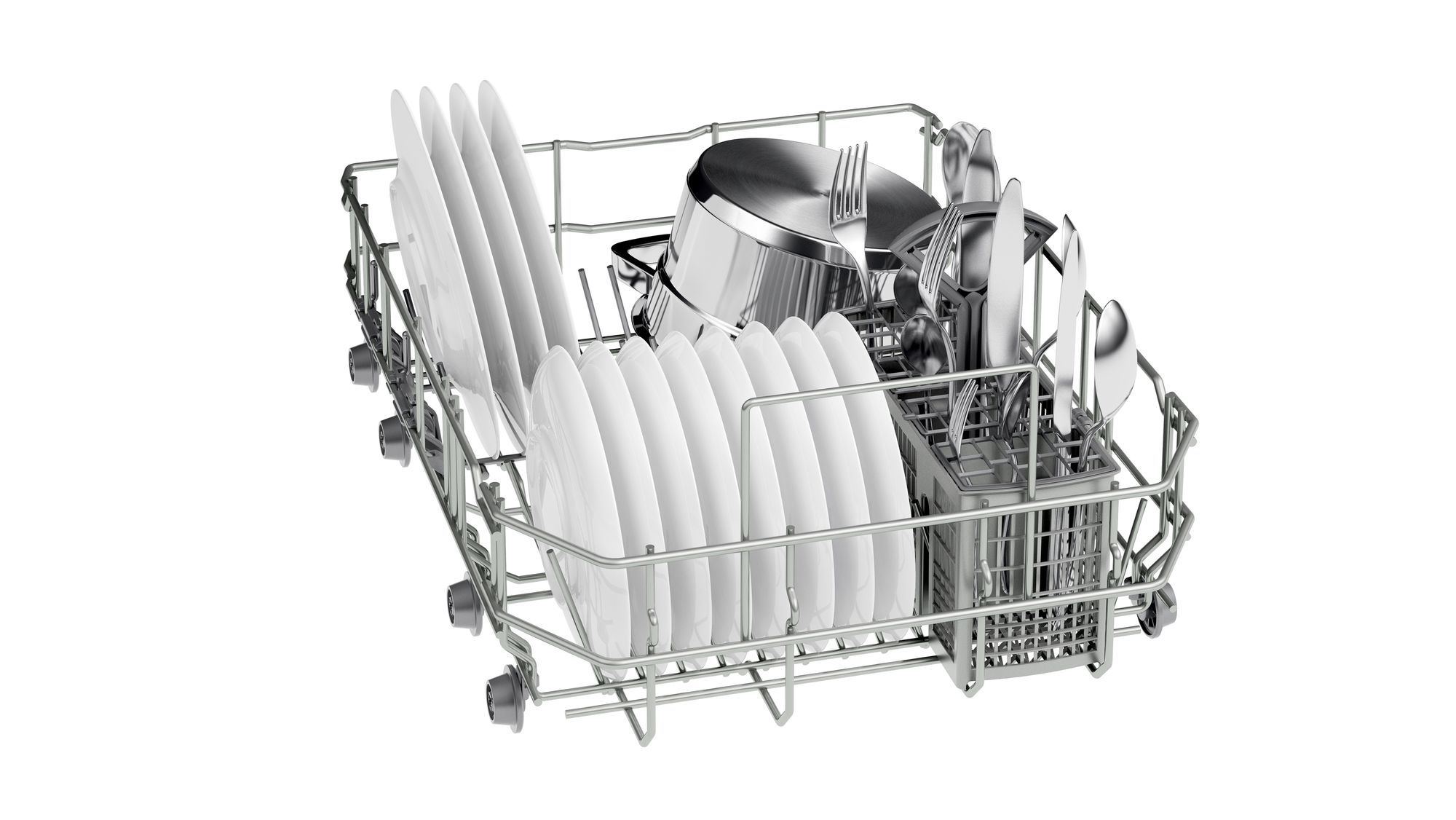 Photos 6: Neff Built-in dishwasher cm. 45 - 9 partial integrated cover S481C50S3E