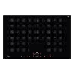 Neff T68ps61x0 Flexinduction induction hob with twistpad 80 cm - black glass ceramic